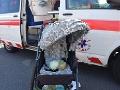 FOTO hrozivej nehody v Banskej Bystrici: Pri zrážke auta s trolejbusom sa zranilo ročné dieťa