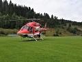Dráma v Štúrove: Zranil sa iba 3-ročný chlapec, na pomoc leteli záchranári