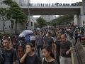 Protesty v Hongkongu pokračujú