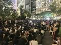Do ulíc vyšli opäť obyvatelia Hongkongu