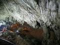 FOTO Dráma v Tatrách: V najhlbšej jaskyni uviazli dvaja speleológovia