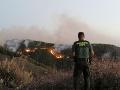Požiar na ostrove Gran