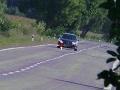 Cesta nie je pretekárska dráha! FOTO Polícia dala vodičovi pocítiť, čo je objektívna zodpovednosť
