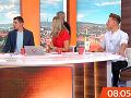 Jojkárska moderátorka v absolútnom šoku: Neznámy muž vbehol rovno do živého vysielania!