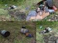 FOTO Prípad sudov s nebezpečným odpadom je objasnený: Polícia obvinili dvoch mužov (42, 44)