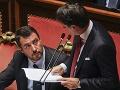AKTUÁLNE V Taliansku padá vláda: VIDEO Premiér Conte podal svoju demisiu