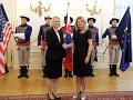 FOTO Čaputová prijala novú veľvyslankyňu USA: Bridget A. Brinkovú nominoval prezident Trump