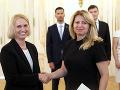 Zuzana Čaputová prijala novú veľvyslankyňu USA na Slovensku Bridget A. Brinkovú