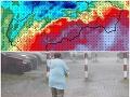 Bude to poriadne škaredá streda! FOTO Tieto oblasti zasiahnu búrky a vietor, potom príde ZVRAT