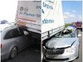 Hrôzostrašná nehoda v smere do Bratislavy: FOTO Ak by v aute sedel spolujazdec, tak...