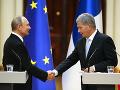 Vladimir Putin a Sauli Niinistö