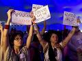 Aktivisti na dielni proti klimatickej zmene v Brazílii