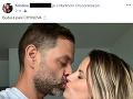 Radostnou správou sa pochválila na Facebooku aj budúca pani Chynoranská.