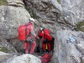 Záchrana uviaznutých jaskyniarov vo