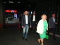 Prišiel aj predseda vlády SR Peter Pellegrini. Spoločnosť mu robila ochranka.