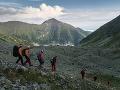 Zásahy bleskom na hrebeni Západných Tatier.