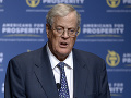 Zomrel jeden z najbohatších ľudí sveta David Koch: Štedrý darca republikánov a vplyvná politická sila