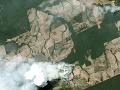 Amazonský prales stále horí: Hasiť pomáha už aj armáda, pomoc ponúka aj Trump