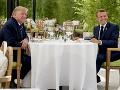 Summit G7 sprevádzajú protesty: Vo francúzskom Biarritzi Trump obedoval s Macronom