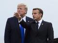 Trump obedoval s Macronom: Lídri riešili najmä bezpečnosť, dotkli sa aj klimatickej zmeny