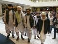 Hnutie Taliban počas rokovania
