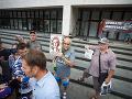 Ďalší protest pred ministerstvom spravodlivosti: OĽaNO trvá na odstúpení Moniky Jankovskej
