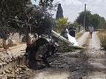 Veľká tragédia na Malorke: FOTO Vrtuľník sa zrazil s lietadlom, zahynula nemecká rodina