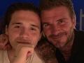 Beckham ukázal telo: O 24 rokov starší otec ho hravo tromfol!