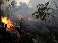 Podľa expertov ani dážď neuhasí požiare v amazonskom pralese