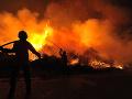 V Košiciach zhorelo 450 ton slamy: Škoda je 15-tisíc eur, stopy zatiaľ vedú k malým deťom