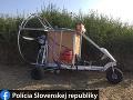 Vynaliezavý Ukrajinec šokoval policajtov: FOTO Cez slovenské hranice si to namieril na lietajúcom stroji!