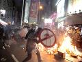 Merkelová neskrýva obavy: Iné ako mierové riešenie situácie v Hongkongu by bola katastrofa