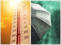 Veľký PREHĽAD augustového počasia: FOTO Slováci sa poriadne zapotili, nechýbali ani zrážky