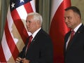 Andrzej Duda a Mike Pence