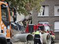 VIDEO Mohutný výbuch v Belgicku: Hlásia zranených, niekoľko osôb uviazlo pod troskami budov