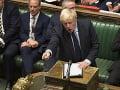 Britský parlament bude dnes riešiť zákon proti tvrdému brexitu: Johnson sa vyhráža voľbami