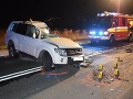 Smrteľná dopravná nehoda v katastri obce Veľké Bierovce.