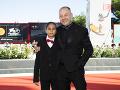 Režisér filmu Pomaľované vtáča Vaclav Marhoul a herec Petr Kotlár, ktorý stvárnil ústrednú postavu.
