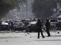 Výbuch v Kábule si