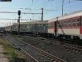 Na železničnej stanici v Senici sa vykoľajil osobný vlak