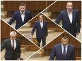 Personálne rošády v parlamente: Toto sú noví poslanci, FOTO Mazureka nahradil Špánik