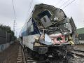 Vlak sa zrazil s nákladným autom