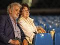 Plácido Domingo s manželkou Martou