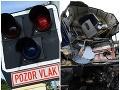 Hororové VIDEO Vlak pri Prahe vrazil do kamióna, ktorý uviazol na priecestí, mrazivé slová svedka