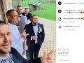 Kali sa pochválil prvým záberom zo svadby.ľ