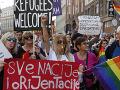 FOTO V konzervatívnej Bosne sa prvýkrát konal dúhový pochod: Zúčastnili sa ho stovky ľudí