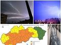 Pre viaceré okresy bola vydaná výstraha pred búrkami.