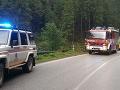 Dopravná nehoda v Demänovskej doline.