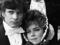 Colin Firth s Gretou Scachi v roku 1984
