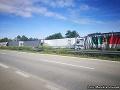 Komplikácie na D2 pri Brne: FOTO Hromadná nehoda kamiónov, skončilo v sebe šesť ťažkých strojov!
